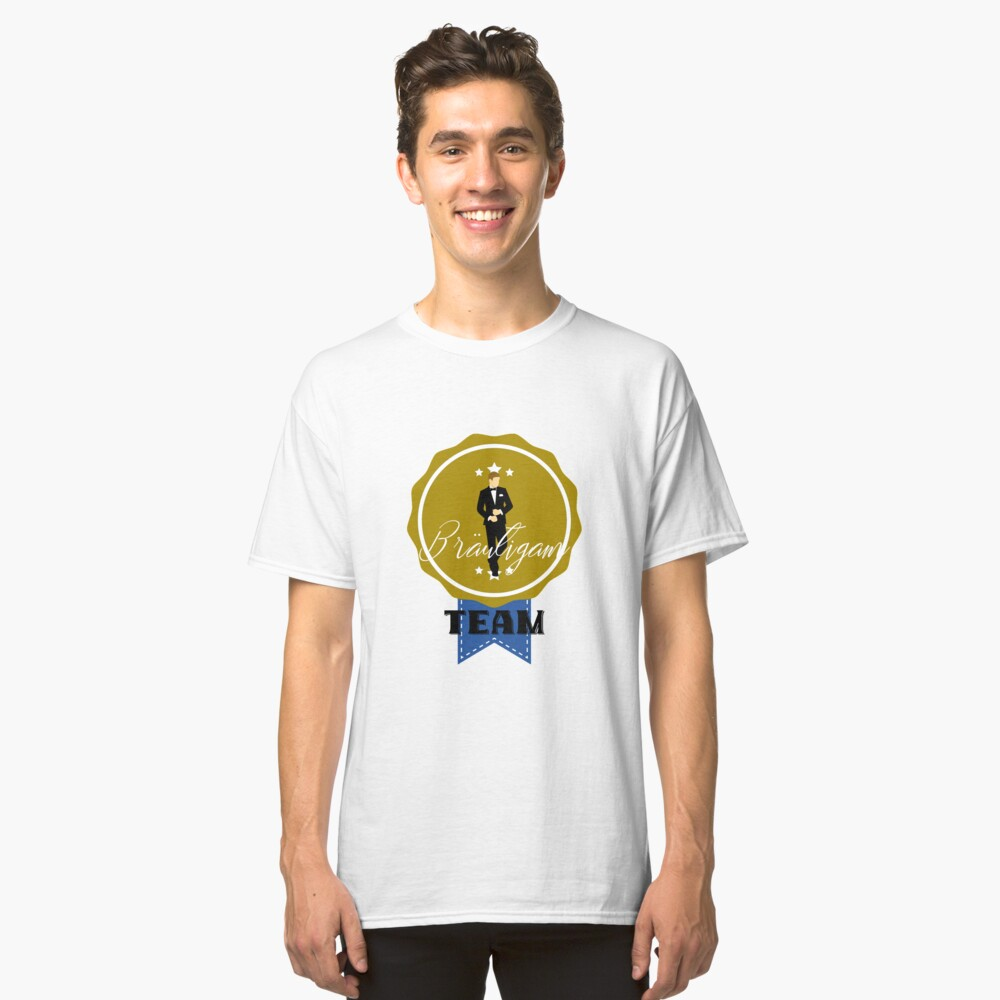 TEAM GROOM (b) Classic T-Shirt