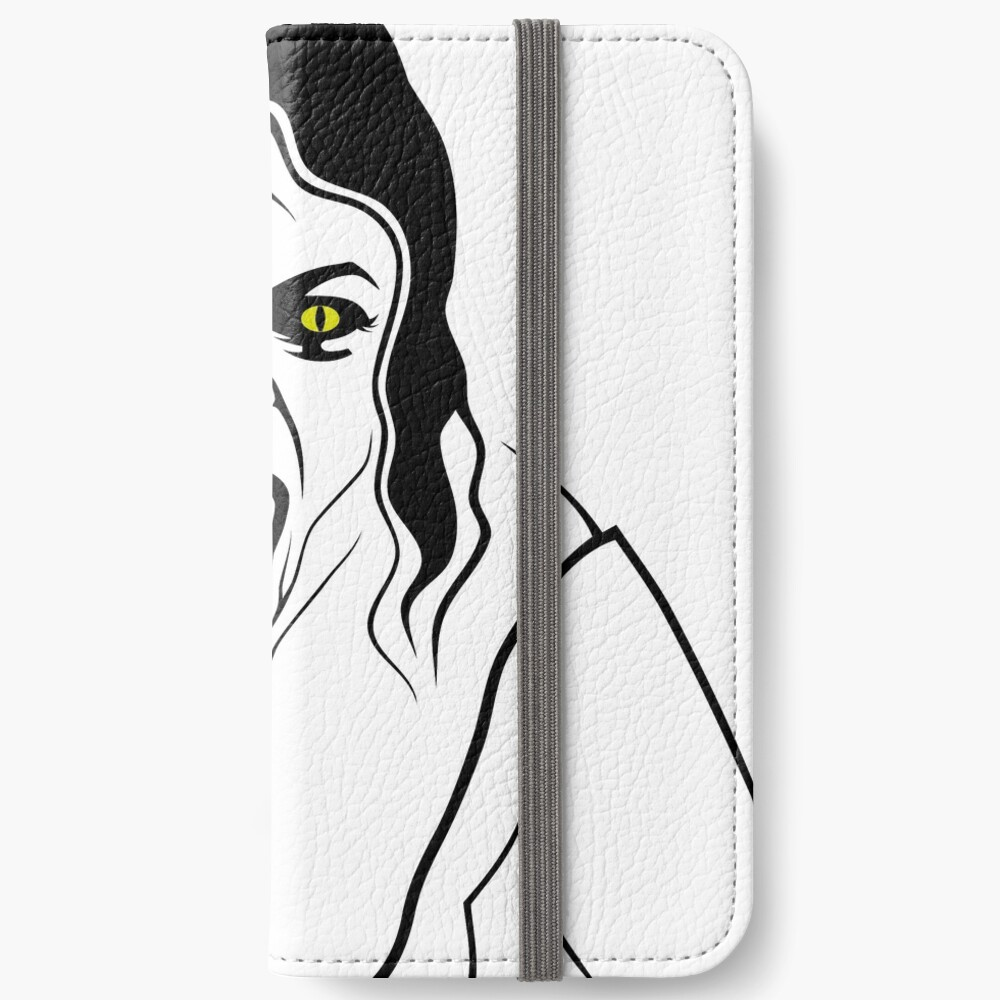 Vampir Lady iPhone Flip-Case