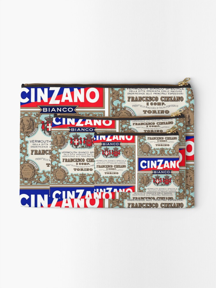 Alternate view of CINZANO Zipper Pouch
