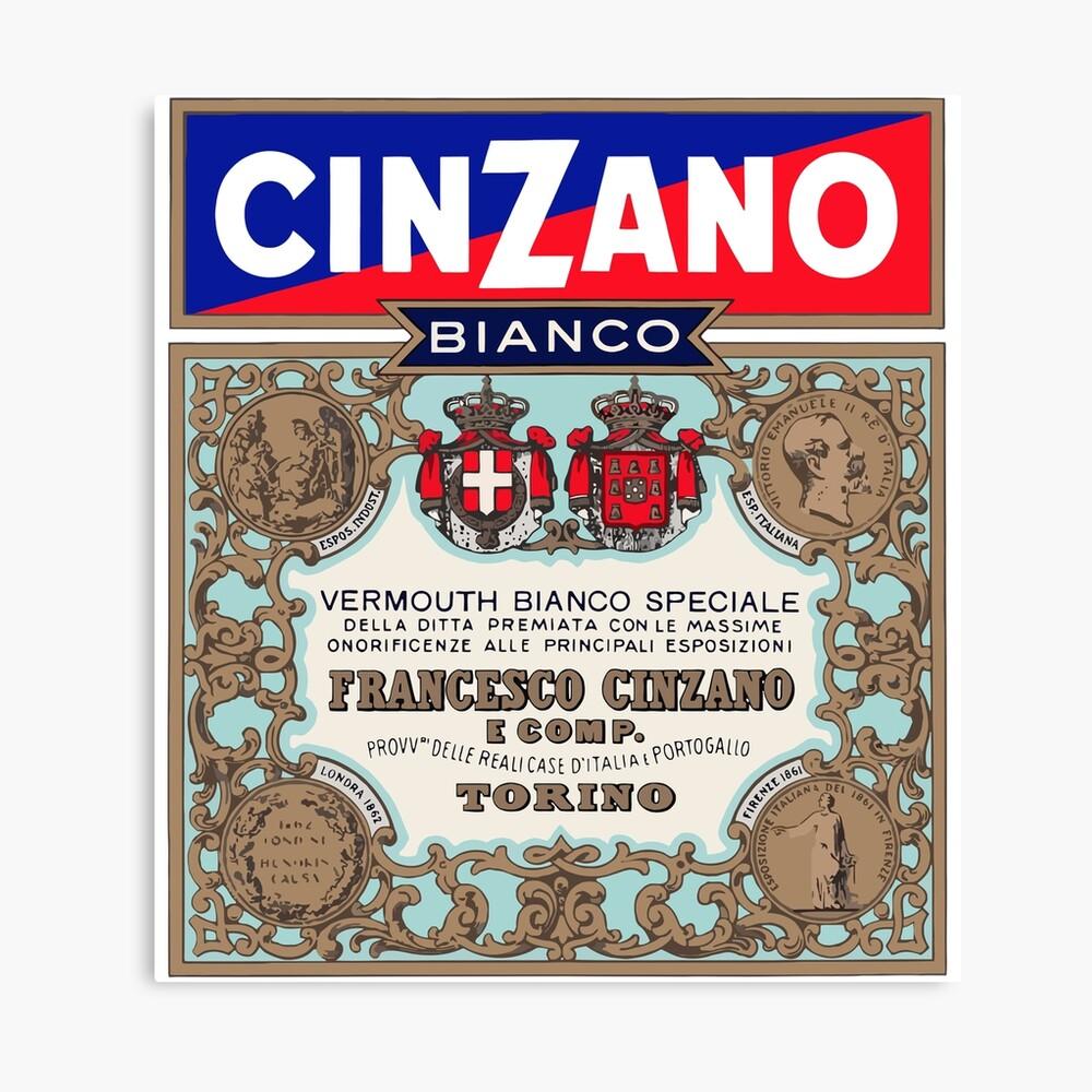 CINZANO Canvas Print