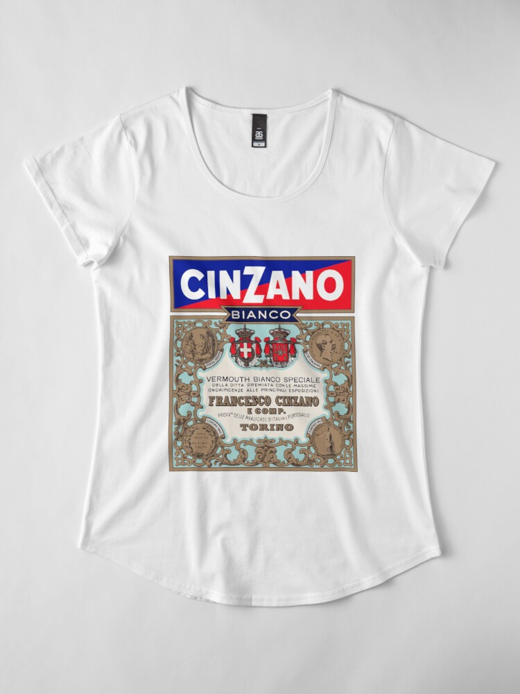 Alternate view of CINZANO Premium Scoop T-Shirt