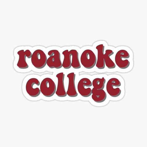 roanoke college Sticker