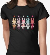 Puella Magi Bunny Magica Womens Fitted T-Shirt