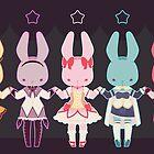 Puella Magi Bunny Magica by amisi