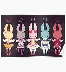 Puella Magi Bunny Magica Poster