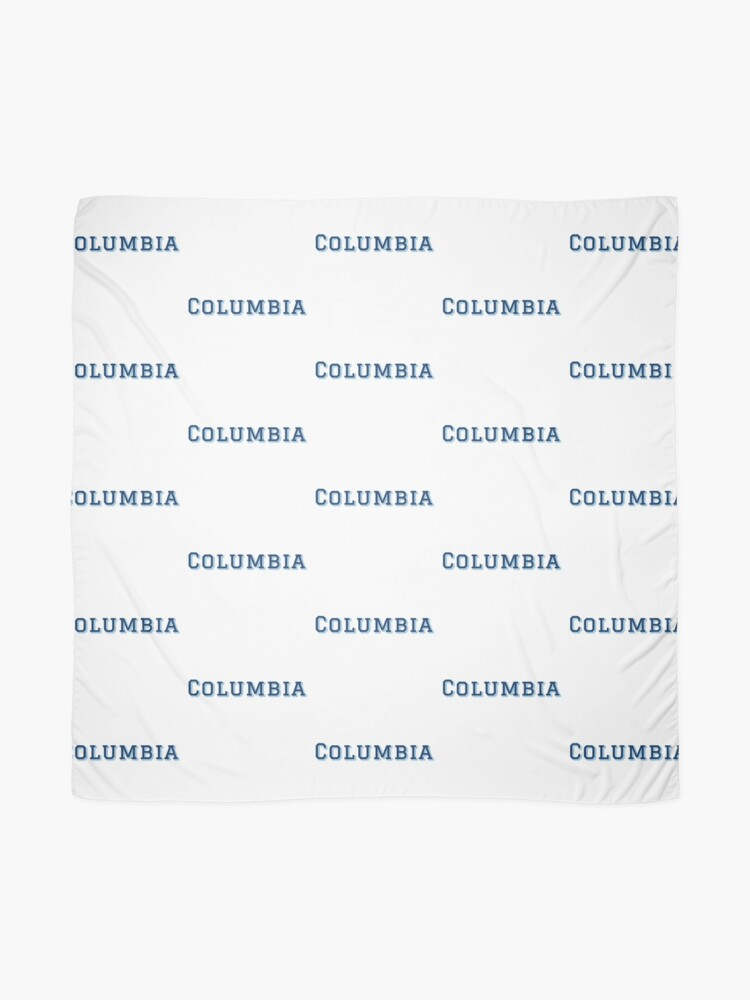 Alternate view of Columbia University Scarf