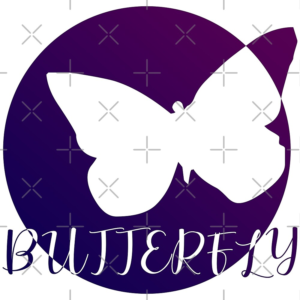 BUTTERFLY PURP STYLE (colored) by Pentamoby