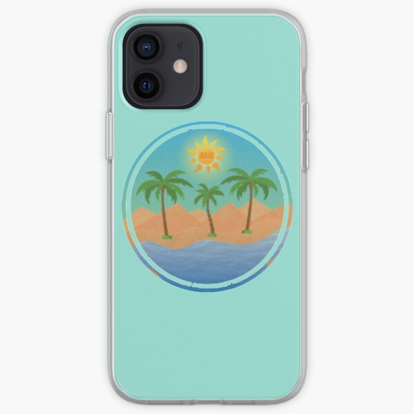 Your Private Oasis Logo Circle iPhone Soft Case