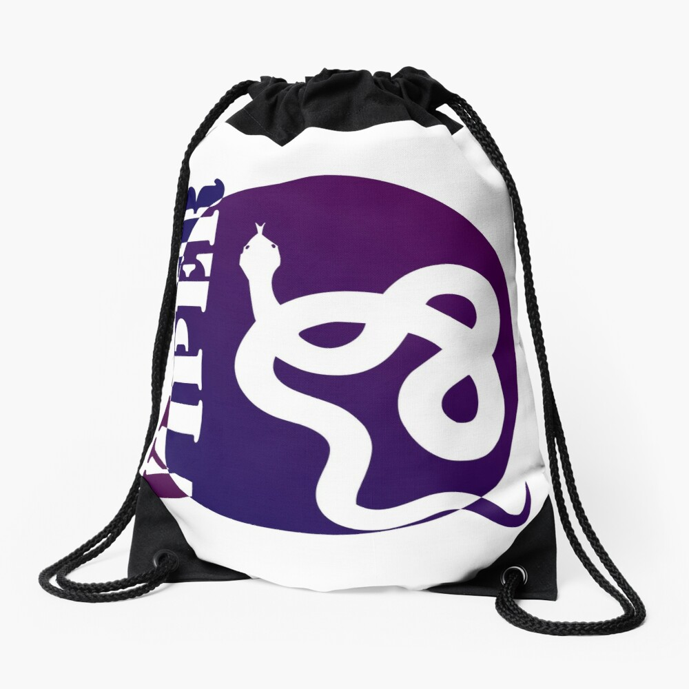 VIPER PURP STYLE (colored) Drawstring Bag