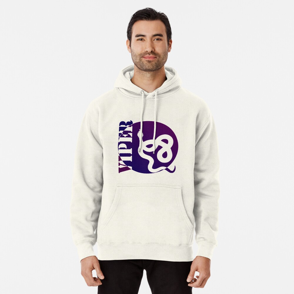 VIPER PURP STYLE (colored) Pullover Hoodie