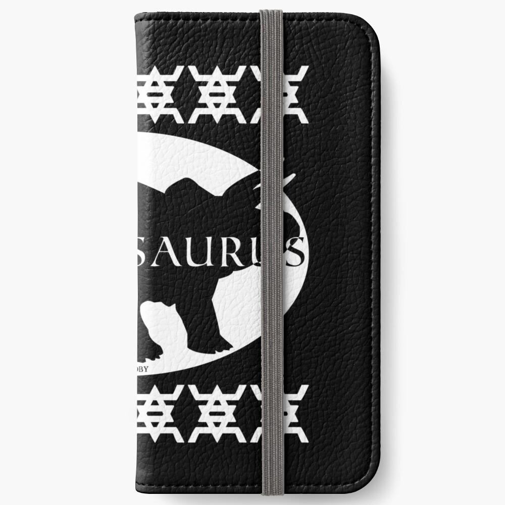 HIPSTERSAURUS (w) iPhone Wallet