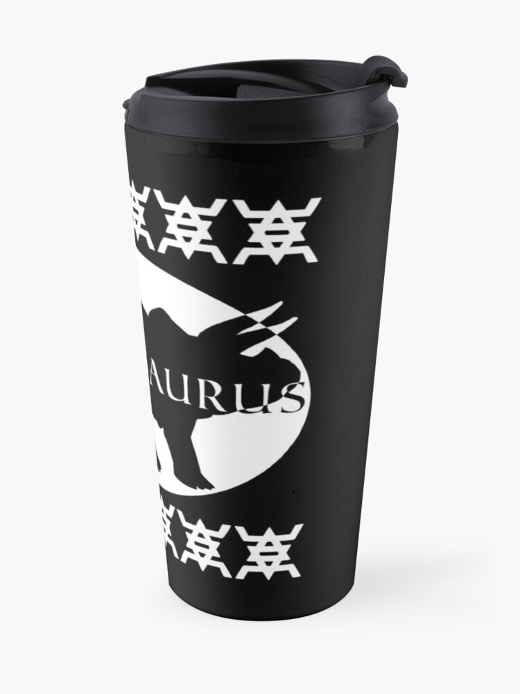 Alternate view of HIPSTERSAURUS (w) Travel Mug