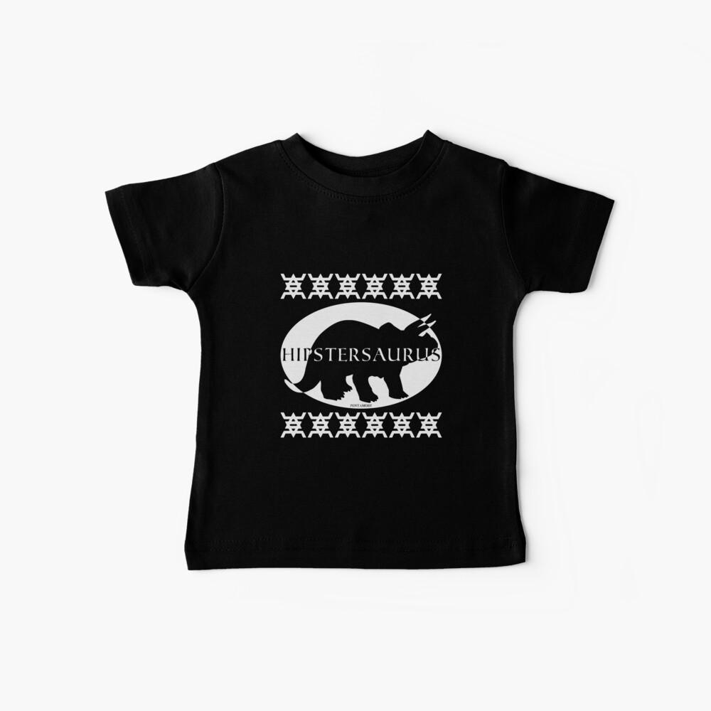 HIPSTERSAURUS (w) Baby T-Shirt