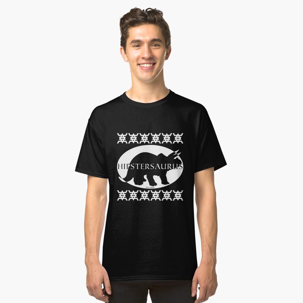 HIPSTERSAURUS (w) Classic T-Shirt