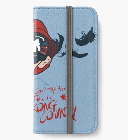 Fear and Loathing in the Mushroom Kingdom iPhone Wallet