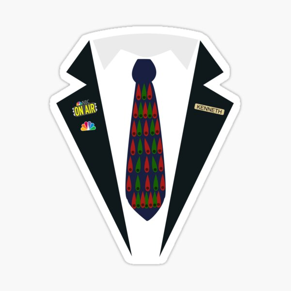 Kenneth Parcell the Page Jacket - from 30 Rock Sticker