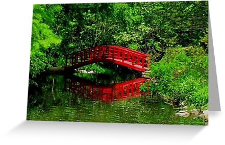 Bridge in the Woods by Rodney Campbell
