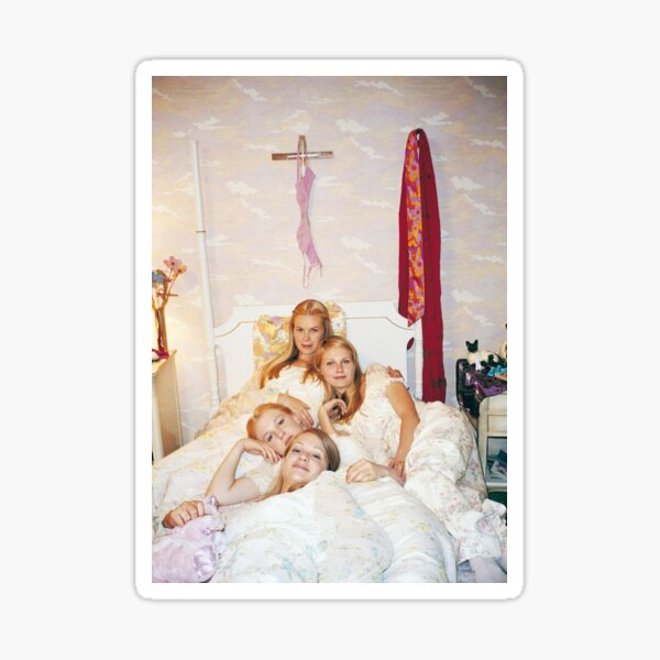 the virgin suicides lisbon sisters Sticker