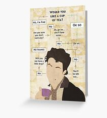 Would you not have a cup of tea? Greeting Card