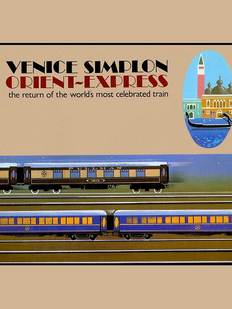 VENICE SIMPLON : Vintage Orient-Express Print by posterbobs