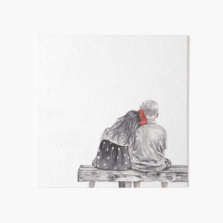 Boy meets Girl Art Board Print