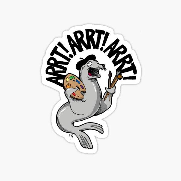 ARRT Seal Sticker