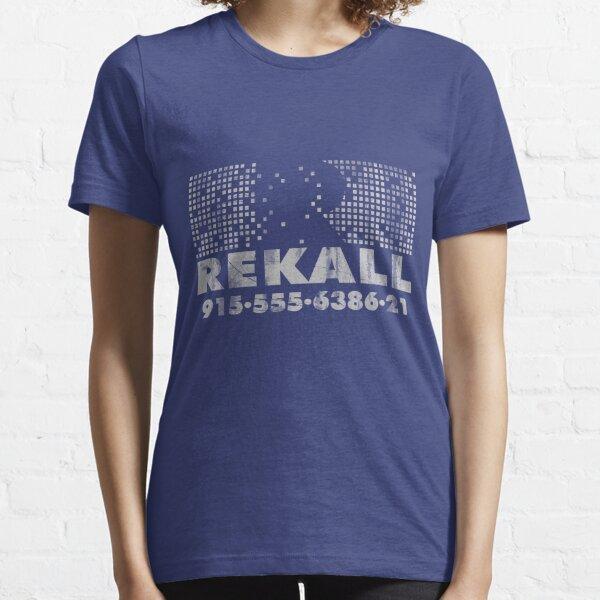 Rekall Distressed Essential T-Shirt