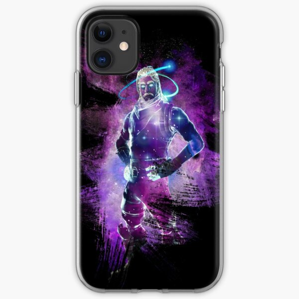 Galaxy Skin EPIC Poster iPhone Soft Case