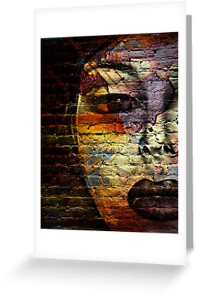 Woman on the Wall by Linda Gregory