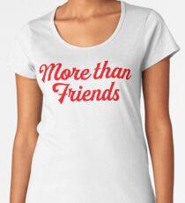 "Juliantina ""More Than Friends"" Amar A Muerte Premium Scoop T-Shirt"