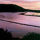 Sunrise Colours  -  Wagonga Inlet by Brett Thompson