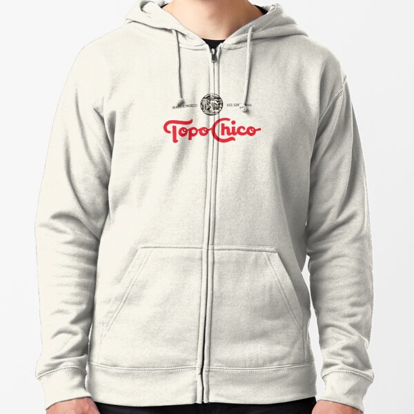 topo chico mineral water Zipped Hoodie