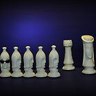 Chess Pieces - (dare to be different) von Schoolhouse62