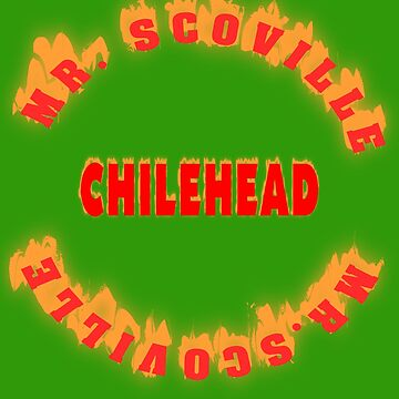 Mr. Scoville Chilehead by Live-Counter