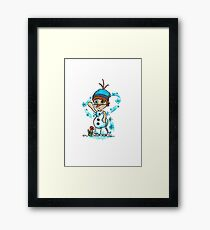 Cosplay Kids - Olaf Framed Print
