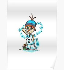 Cosplay Kids - Olaf Poster