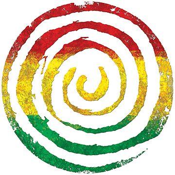 Reggae Sonne von Periartwork