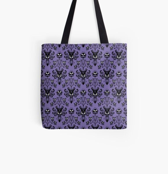 Haunted Mansion Wallpaper (Tile) All Over Print Tote Bag