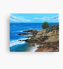 Laguna Beach, Heisler Park Plein Air Canvas Print