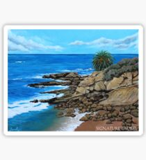 Laguna Beach, Heisler Park Plein Air Sticker