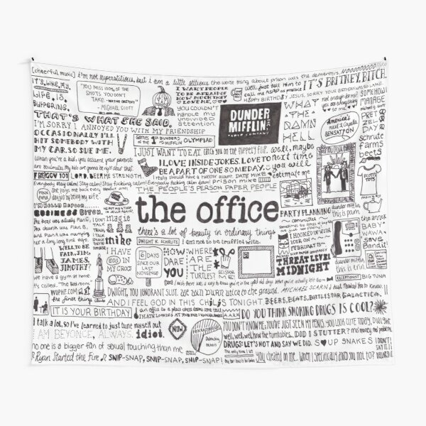A Visual Representation of the Office Tapestry