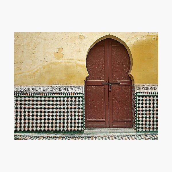 Moroccan Door Photographic Print
