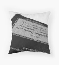 Impossible Special Card No. 1 Throw Pillow