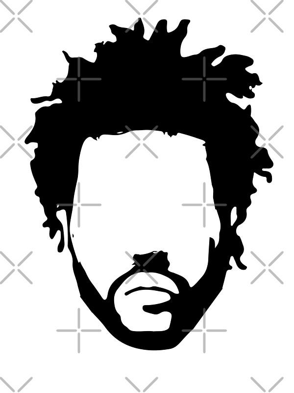 Kendrick Lamar Stencil Black And White 36150 | RGBWEB