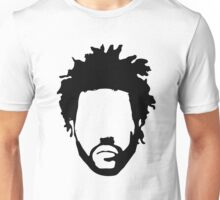 The Weeknd Head Outline Unisex T-Shirt