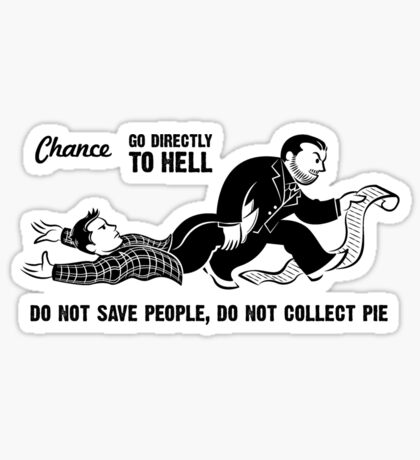 Go To Hell Sticker