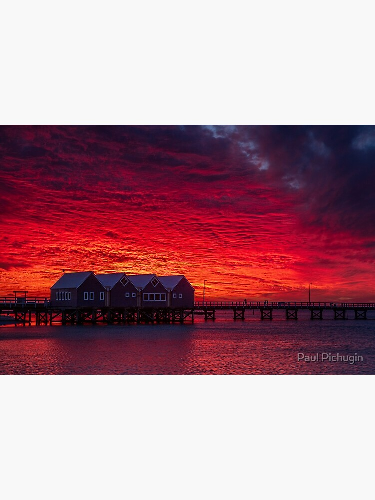 Sunset over Busselton Jetty by paulmp