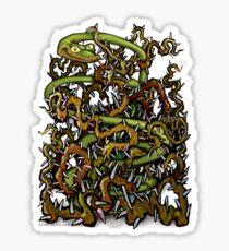 Serpent n Thorns Sticker