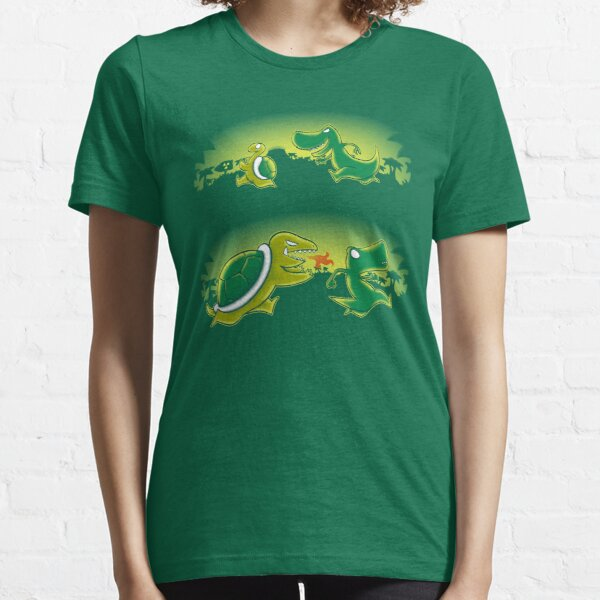 Turtle vs T-rex Essential T-Shirt