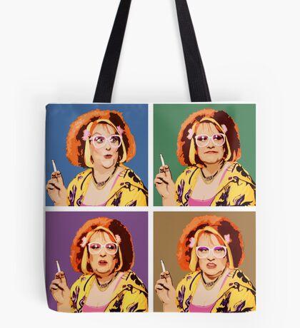 The Auburn Jerry Hall Pop Art Tote Bag